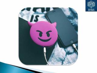 Power Bank Batería De Respaldo De Emoji Diablo