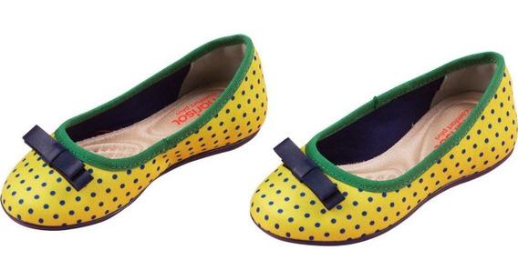 Sapatilha Marisol (amarela)