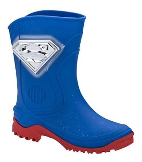 Galocha Liga Da Justiça Super Man Grendene 011998