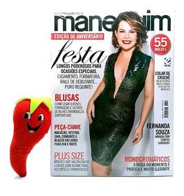 Revista Manequim Edição De Aniversário, Festa N° 710