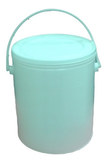 Pote, Envase Plástico De 1 Galon Para Pinturas Y Quimicos