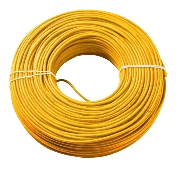 Cable 12 Thw Awg Pvc 75°c 600v X10 Mts Cabel /