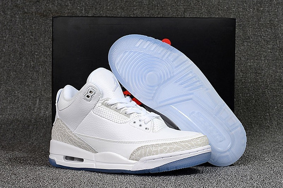 Tênis Nike Air Jordan 3 X Off White Pure White (original)