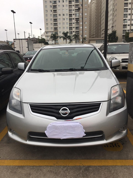 Nissan Sentra 2.0 Flex 2013 Prata - Manual