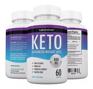 Quemador Keto Advance Dieta Cetogenica Importado Usa