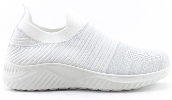 Zapatillas Elastizadas Jaspeada Dama Wake Sport Nuevas 0001