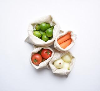 Bolsas Para Frutas Y Verduras Bolsa Reutilizable Zero Waste