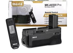 Grip Meike Mk-a6500 Para Sony A6500 + Controle Remoto