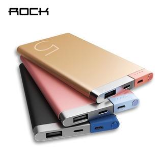 Bateria Portátil 5.000mah Rock iPhone X/xs/xr/max/8/7/6s/se