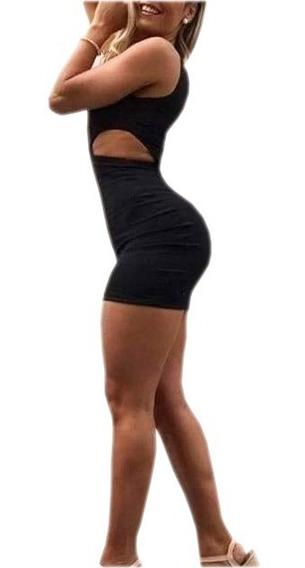 Vestido Corto Ajustado Sexy Mujer
