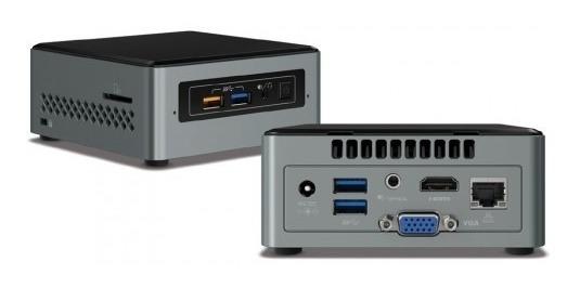 Mini Pc Kit Intel Nuc Boxnuc6cayh 4gb Ssd 120gb J3455