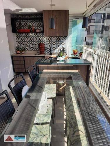 Imagem 1 de 30 de Apartamento Com 3 Dormitórios À Venda, 91 M² Por R$ 920.000 - Jardim Anália Franco - São Paulo/sp - Ap6699