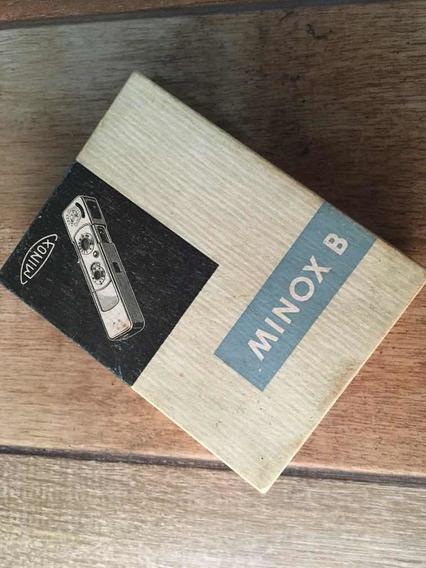 Câmera Alemã Minox B Black