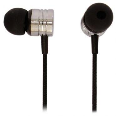 Earphone Com Mic Neon Black Max 6012197
