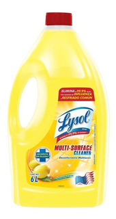 Lysol Desinfectante Antibacterial 6 Litros Multisuperficies