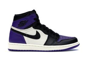 Tenis Nike Air Jordan 1 Og Purple Court Ds Novo Retro 38