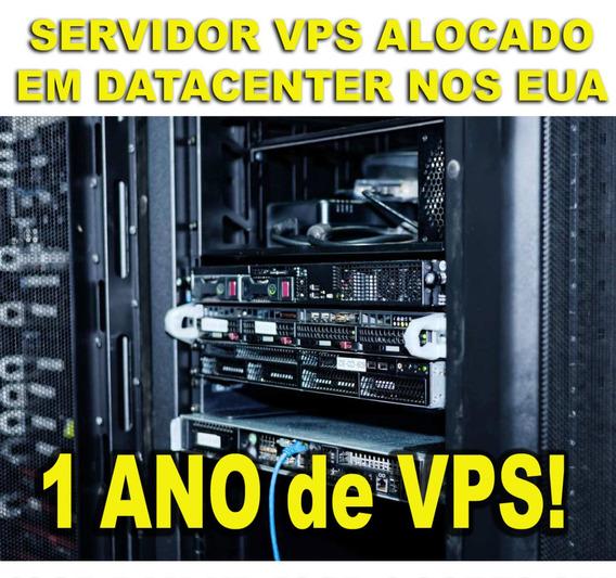 Servidor Vps 6gb Ram Hd 30gb 1 Ipv4 Por 1 Ano