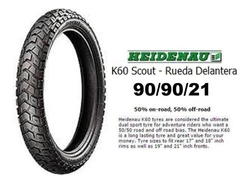 Heidenau Scout K60 90 90 21 54t - Envio Gratis - 90 90 21