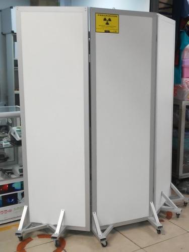 Imagen 1 de 1 de Biombo Plomado Emplomado 3 Cuerpos Radiologia Rayosx
