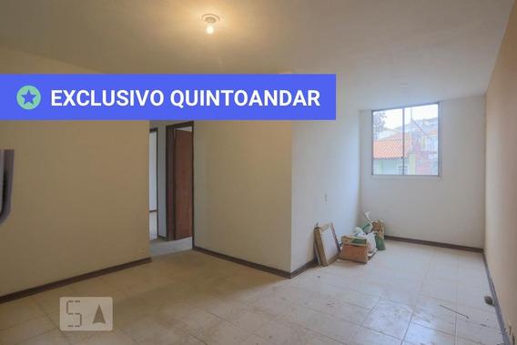 Apartamento No 1º Andar Com 2 Dormitórios E 1 Garagem - Id: 892987136 - 287136