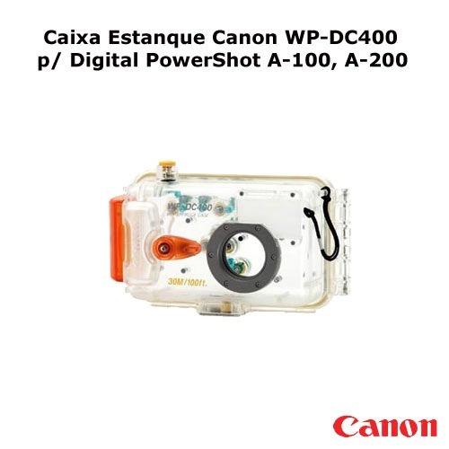 Caixa Estanque Canon Wp-dc400 P/ Digital Powershot A-100, A-