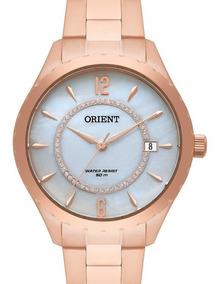Relógio Orient Feminino Rose Gold - Frss1033 B2rx