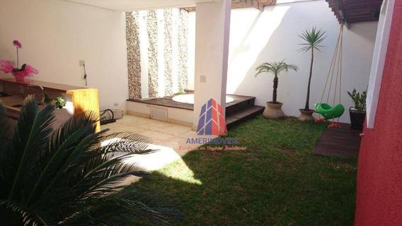 Sobrado Com 3 Dormitórios À Venda, 110 M² Por R$ 690.000,00 - Cariobinha - Americana/sp - So0142