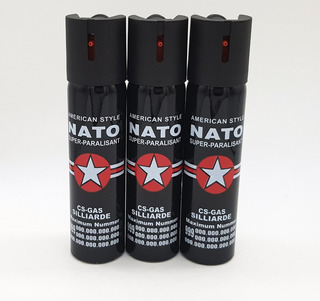 Kit 10 Unidades Do Spray Nato 110ml Ou Pimenta