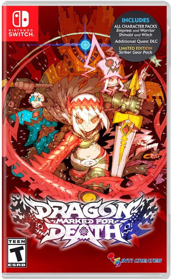 Dragon: Marked For Death - Switch - Midia Fisica!