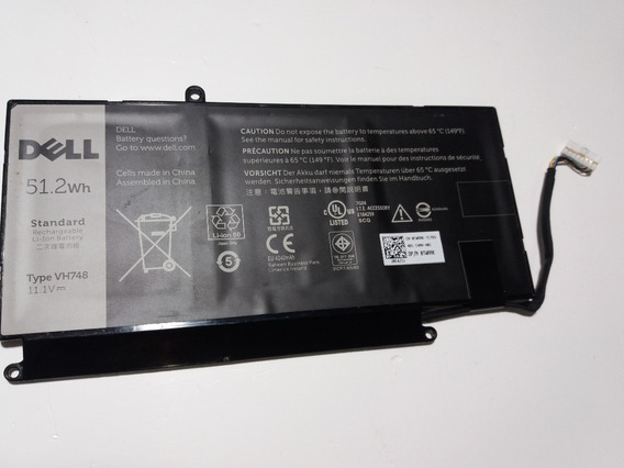 Bateria Dell Vostro 5460 5470 5560 Inspiro14zd Vh748 (leia)