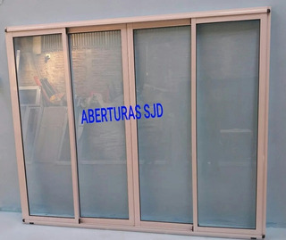 Ventana Modena 280x150 Vidrio Hermetico Dvh 4+9+4 09