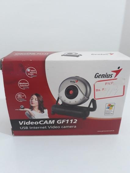 Cámara Web Genius Videocam Messenger Usb 350k Pixels