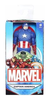 Muñeco Capitan America Spiderman Hulk15cm B1686 Hasbro