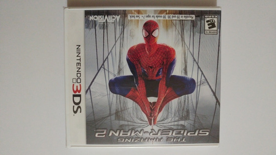 The Amazing Spider-man 2 3ds Original Americano E Lacrado
