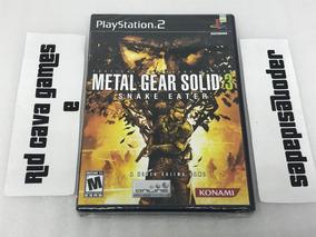 Metal Gear Solid 3: Snake Eater Ps2 - Novo E Lacrado