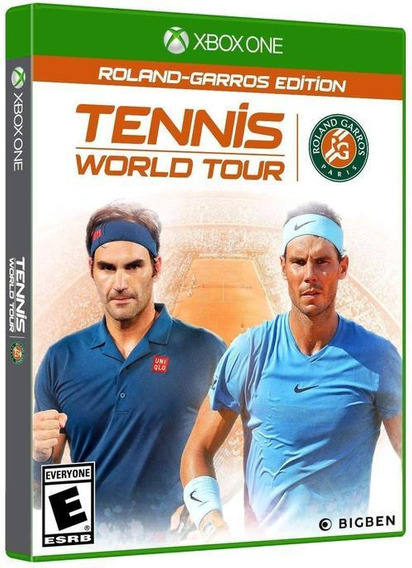 Tennis World Tour Roland Garros Legends Xbox One Conectado