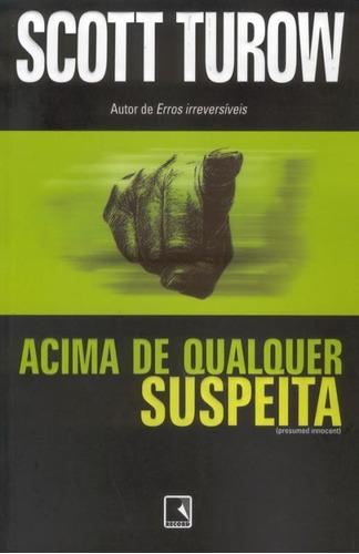 Livro Acima De Qualquer Suspeita