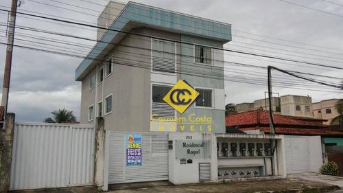 Lindo Apartamento Com 2 Dormitórios À Venda, 60 M² Por R$ 200.000 - Recreio - Rio Das Ostras/rj - Ap0501