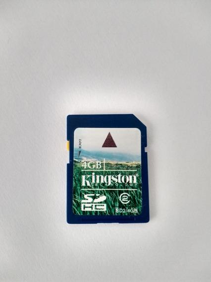 Cartão De Memória Sd 4 Gb Classe 2
