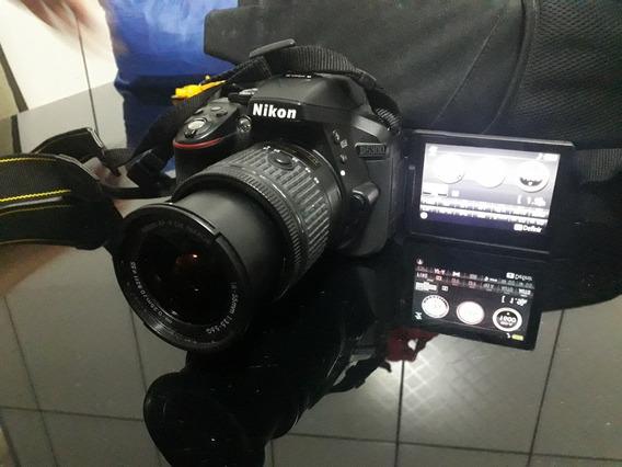 Nikon D5300 + Flash Nikonsb-700 + Carreg. Com Pilhas + Mala