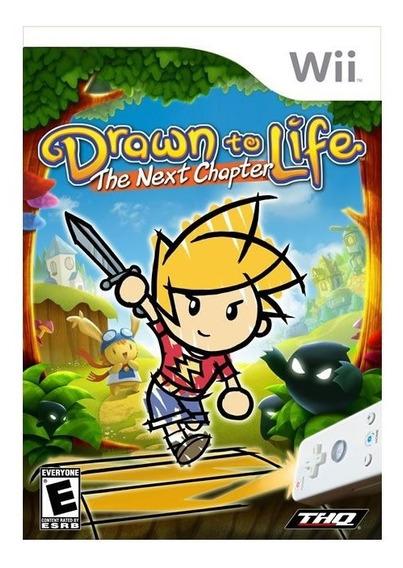 Drawn To Life: The Next Chapter - Wii - Mídia Física Lacrado