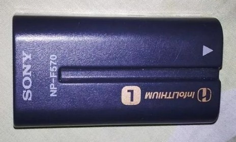 Bateria Sony Para Camaras Profesionales Np-f570