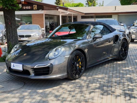 Porsche 911 Turbo S Cabriolet 2016