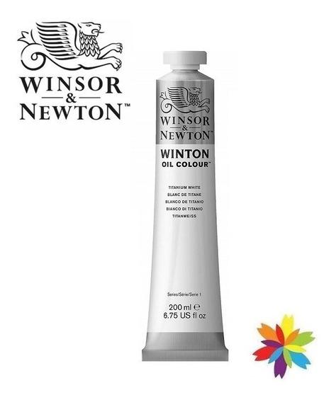 Oleos Winton Winsor & Newton 200 Ml Blanco Barrio Norte