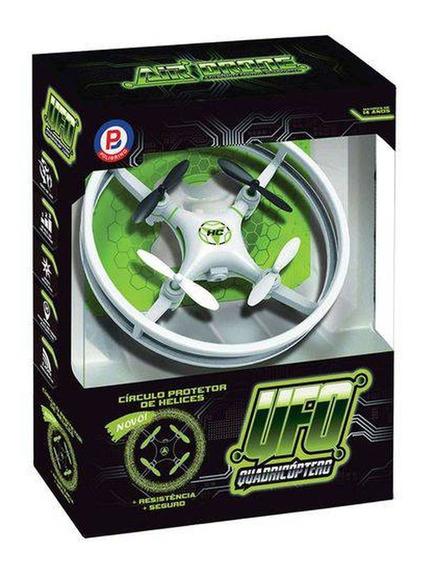 Mini Drone Quadricoptero Ufo Com Controle Remoto E Luzes