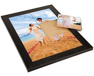 * Marco Con 6 Azulejos Personalizados * 30x20 Cm Impresos
