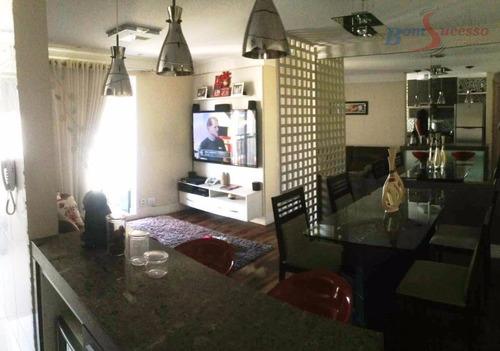 Imagem 1 de 30 de Apartamento Com 3 Dormitórios À Venda, 67 M² Por R$ 480.000,00 - Vila Prudente (zona Leste) - São Paulo/sp - Ap1260