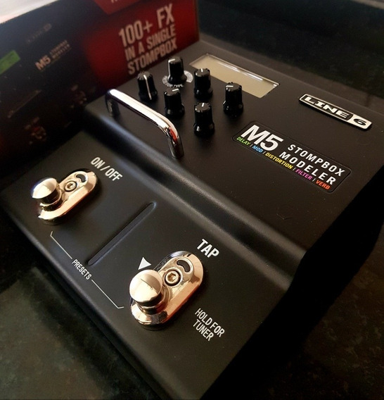 Pedal Stompbox Modeler Line 6 M5