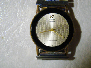 Reloj Citizen Quartz Water Resist
