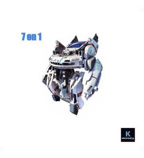 Juguete Robot Solar Armable 7 En 1 / K